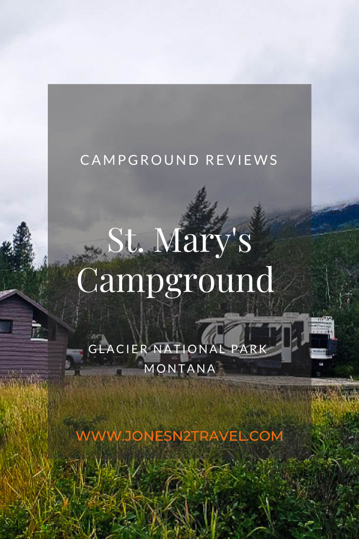 Campground Review   St. Mary's Campground   Montana