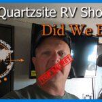 2020 Quartzsite RV Show