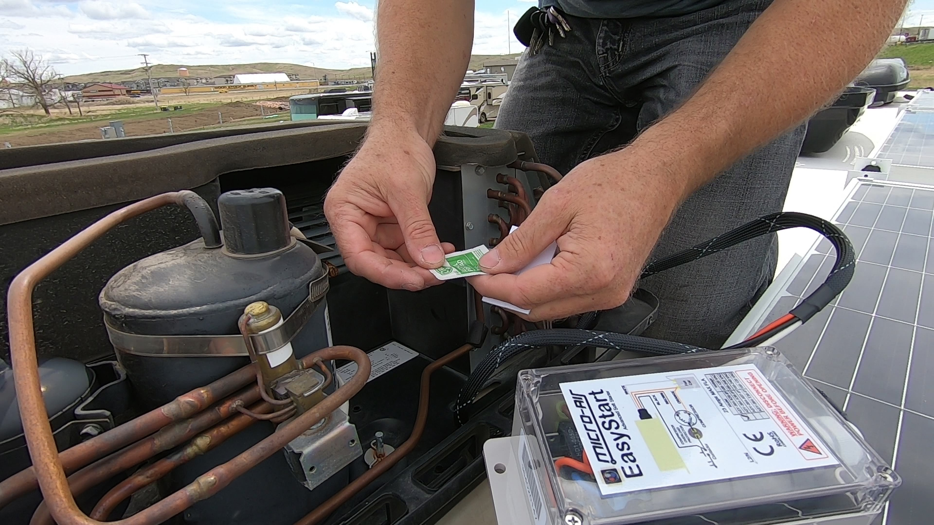 How to: Installing a Micro Air Easy Start on your RV