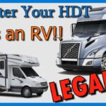 How to Register your Heavy Duty Truck as an RV