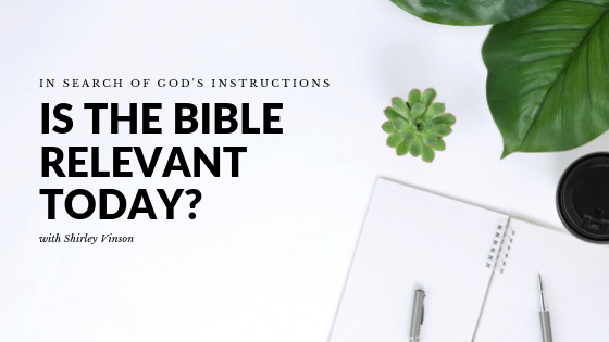 Episode 1: Is the Bible Relevant Today?