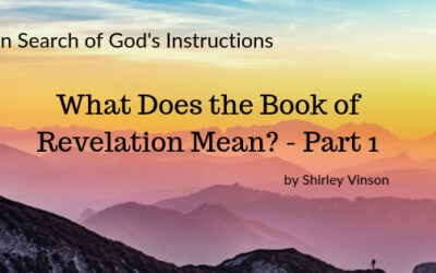 The Book of Revelation Means – Part 1