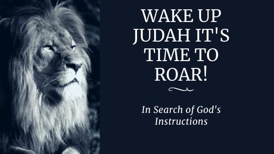 Episode 7: Wake Up Judah It's Time To Roar!