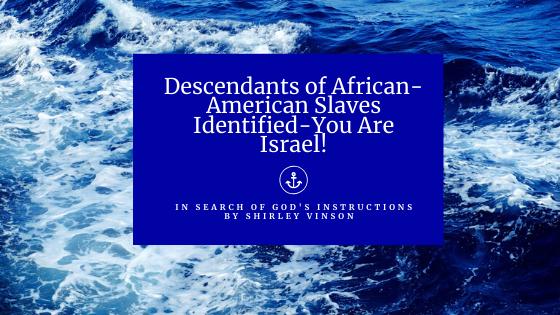 Descendants of African-American Slaves Identified