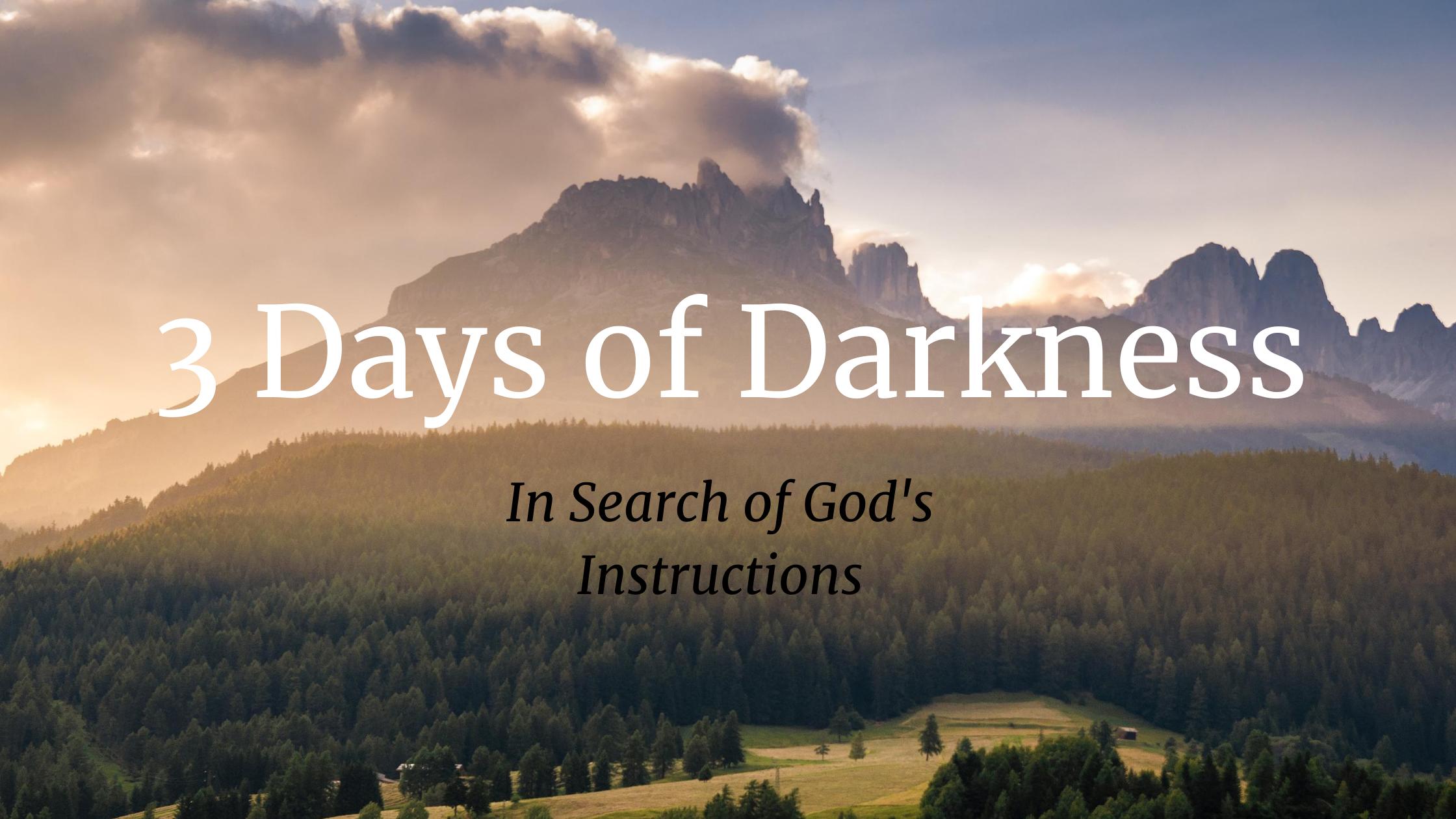 3 Days of Darkness