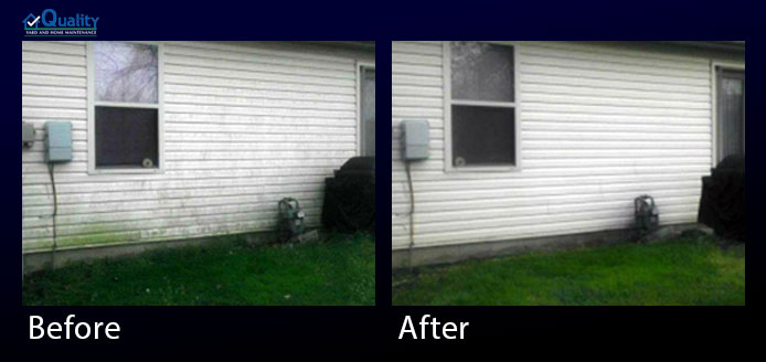 Before and After Exterior Cleaning