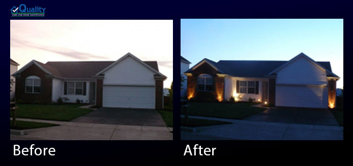 Before and After Exterior Enhancements