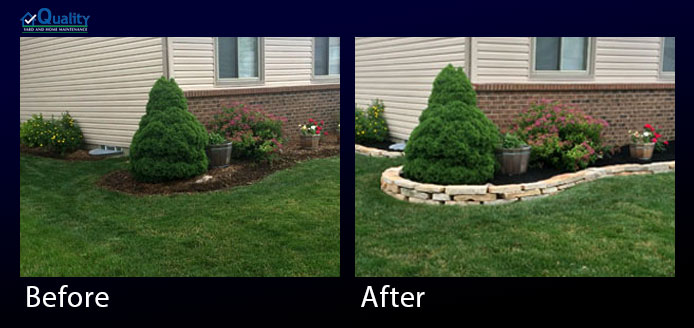 Before and After Landscaping