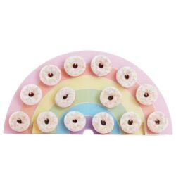Donut Wall Pastel Rainbow