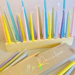Candle Rainbow