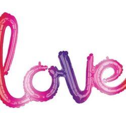 Globo LOVE Ombré