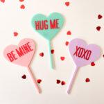 Cake Topper Valentines