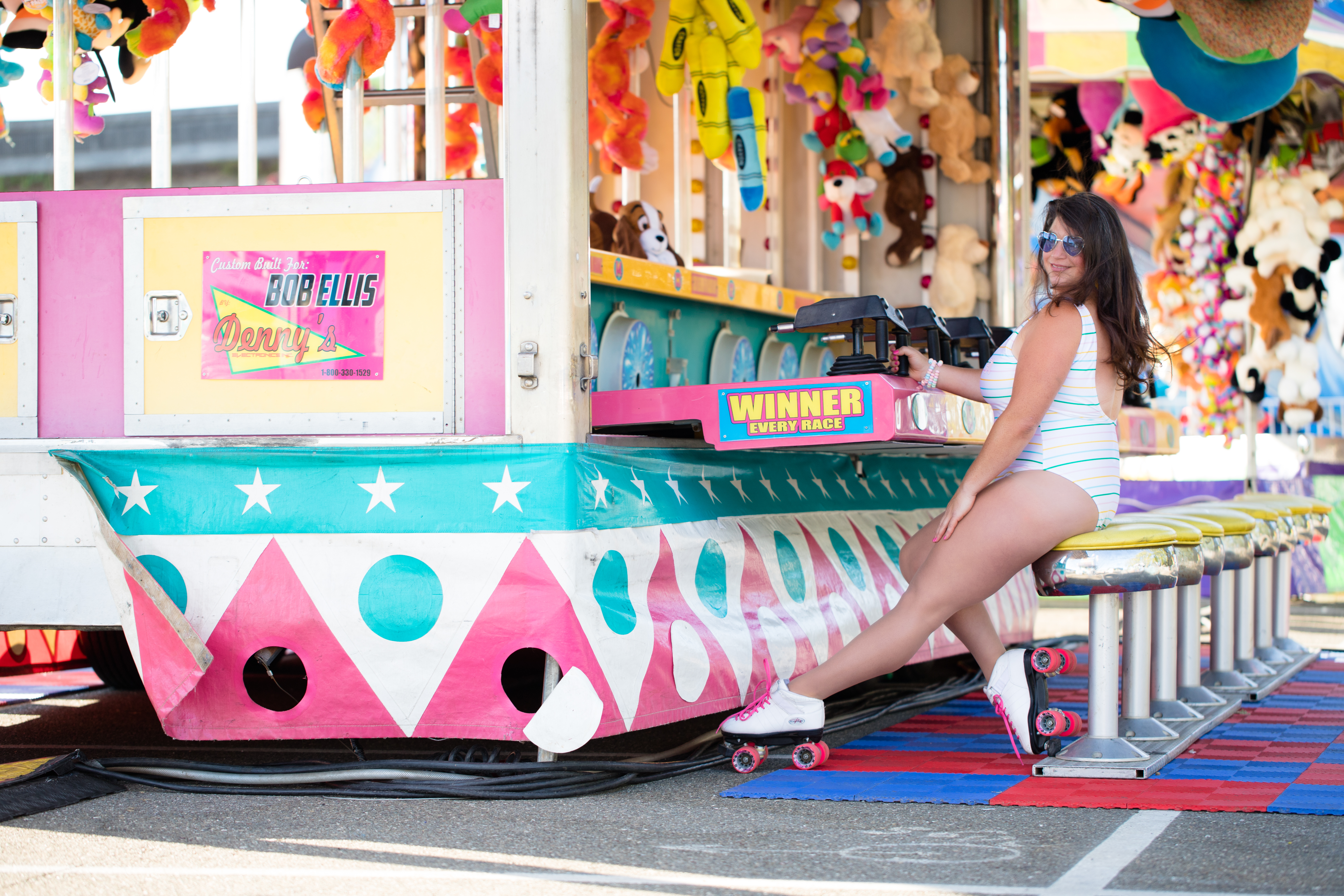 carnival 80's retro