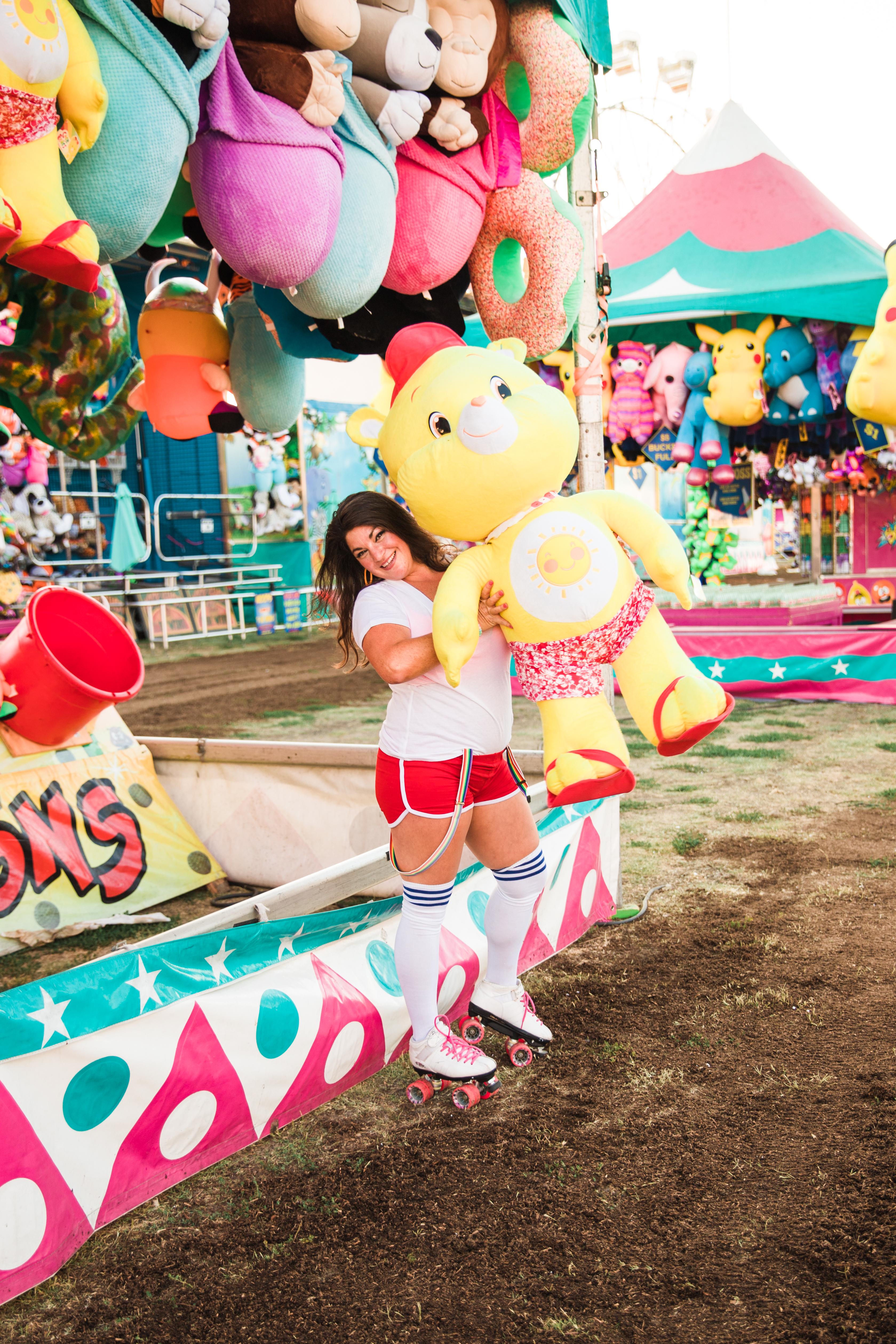 carnival, retro, care bear, games