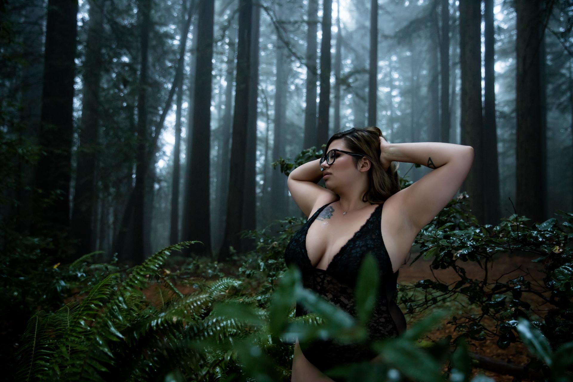 Outdoor Boudoir Adventures in Sonoma County