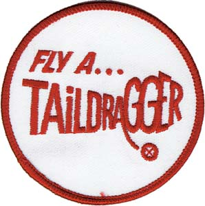 3036_2 fly a taildragger patch
