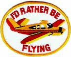 3045 i'd rather be flying patch
