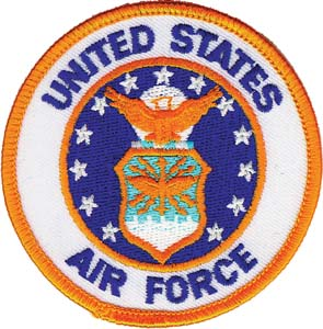 3076 us air force patch