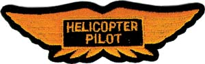 3086 helicopter pilot patch