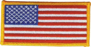3122 us flag patch