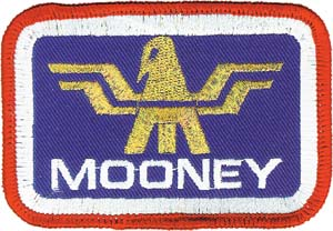 3129 mooney logo patch