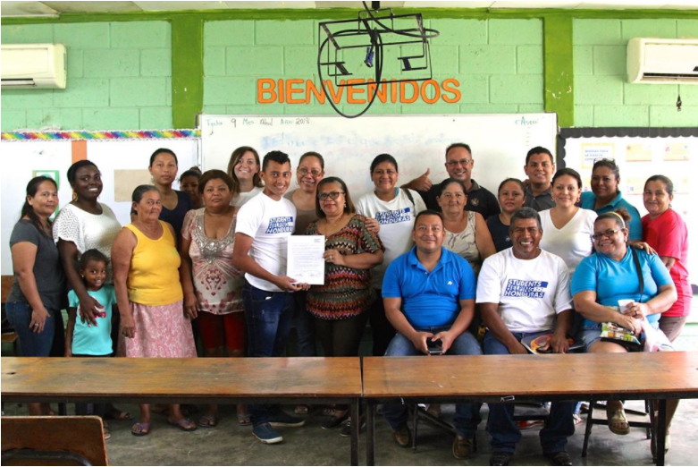 School 50 dilcia fernandez honduras convenio