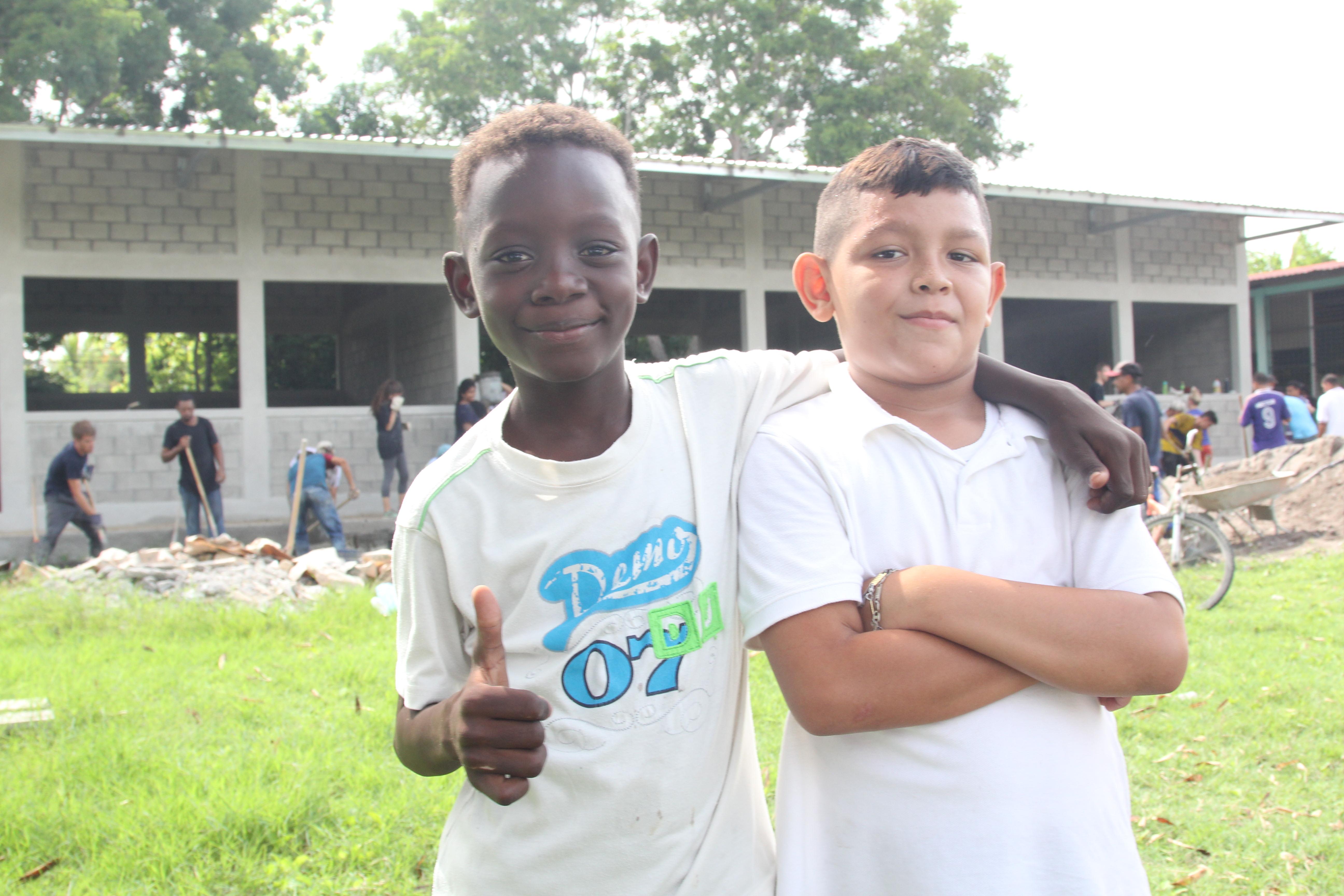 Updates of students at school 50 in honduras update