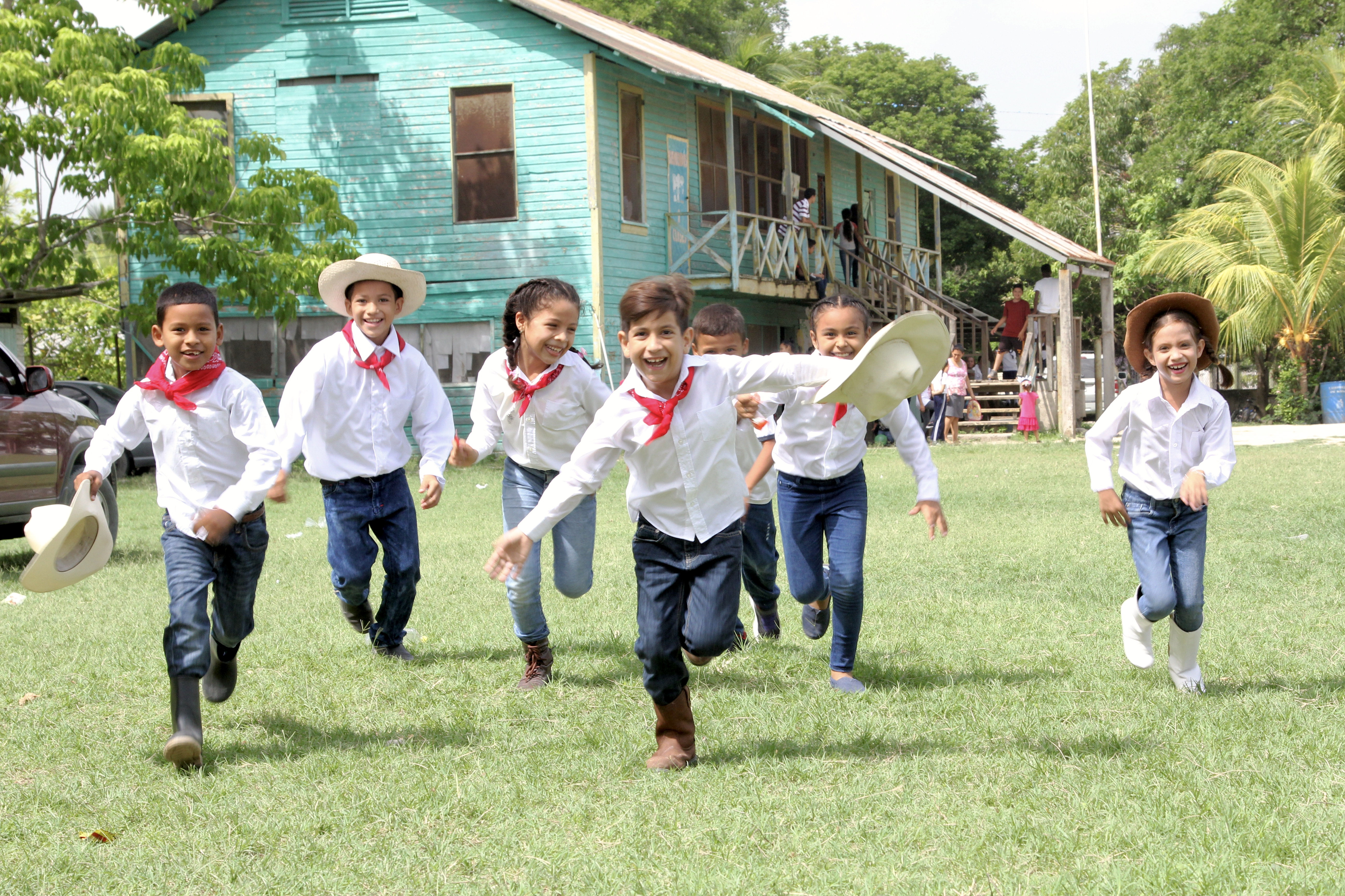 Lempira Day in Honduras at Honduran School