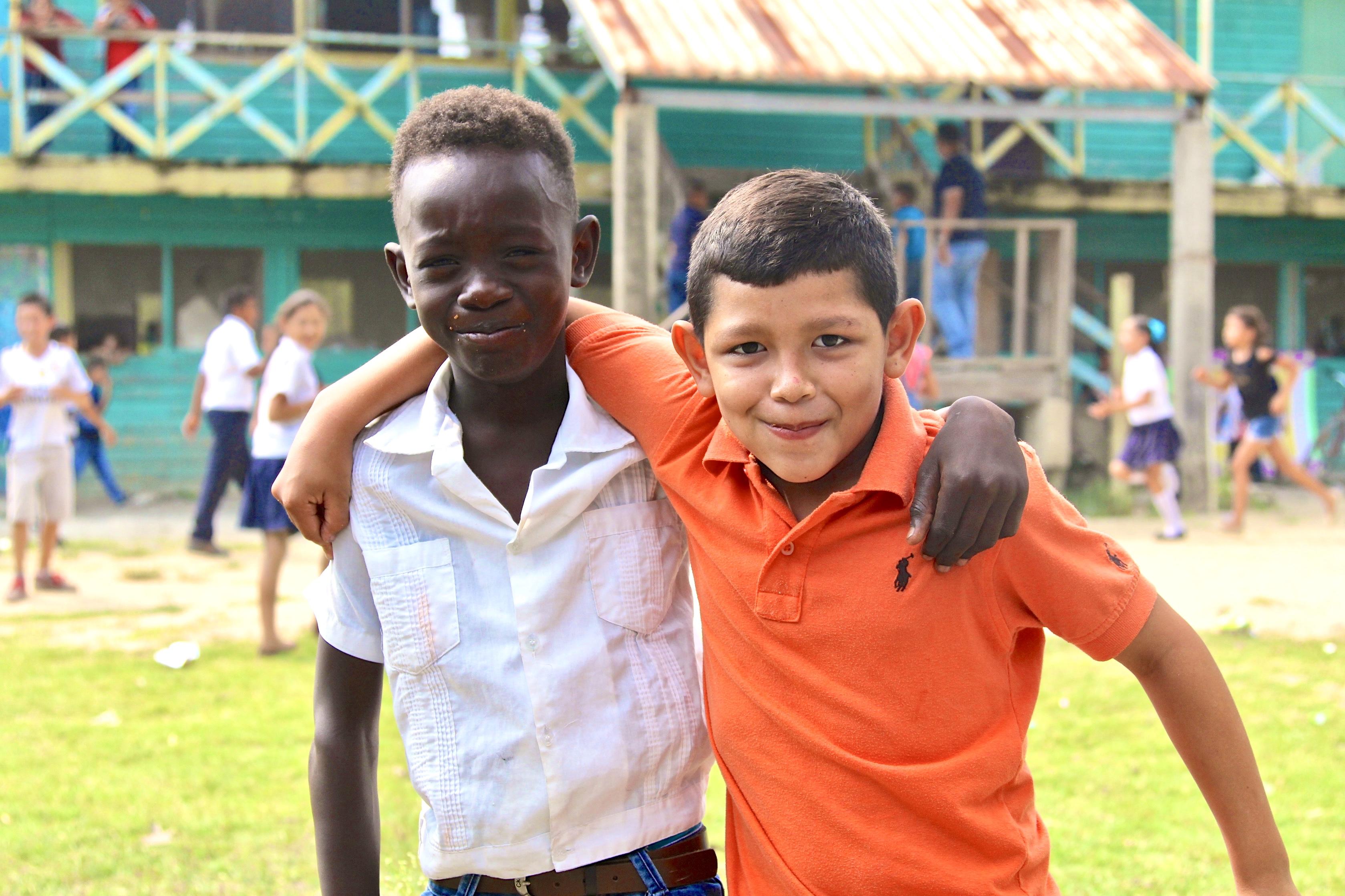 Updates of students at school 50 in honduras