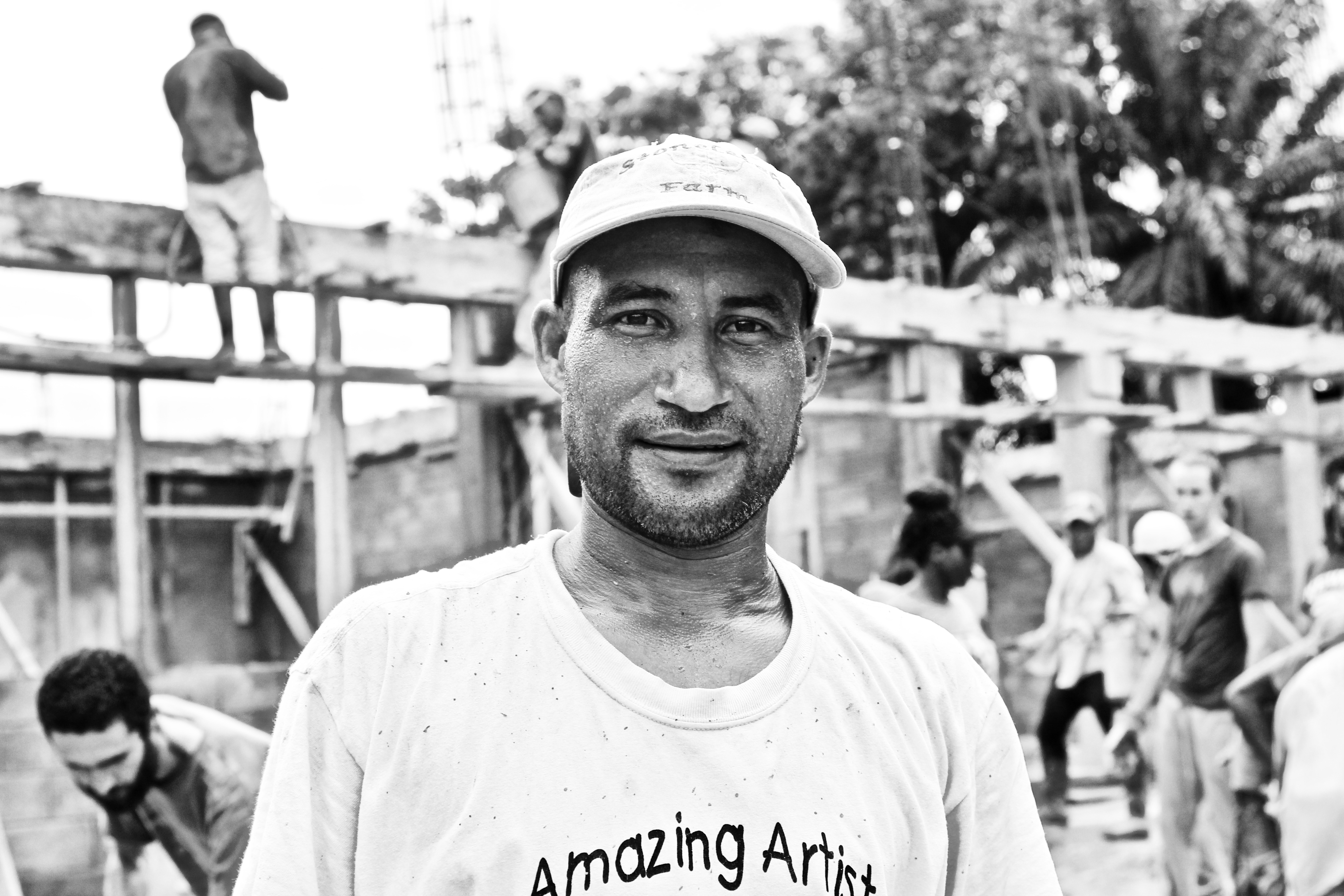 Meet Antonio Reyes, Mason on the Schools Construction Team