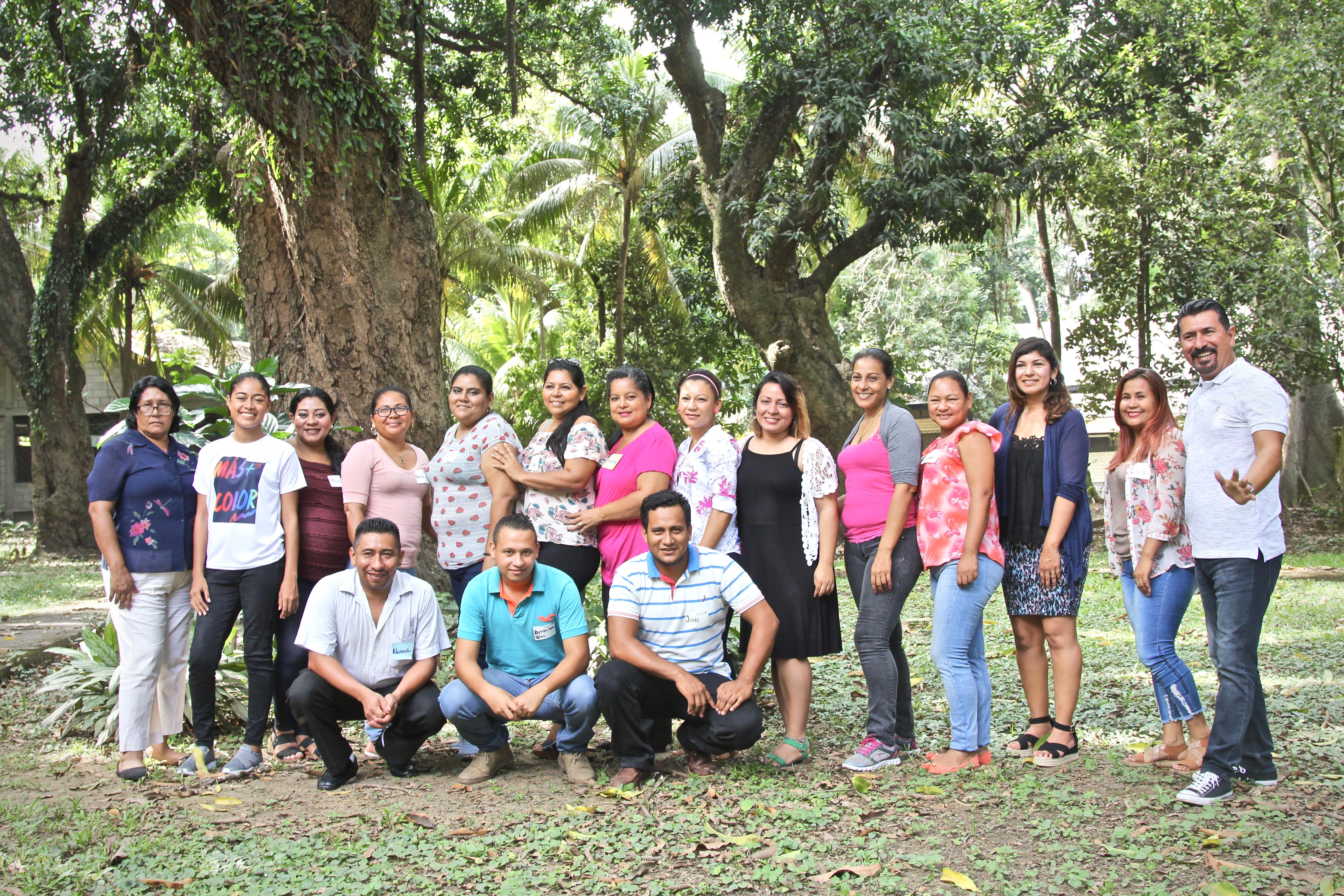 teacher training program honduras group photo