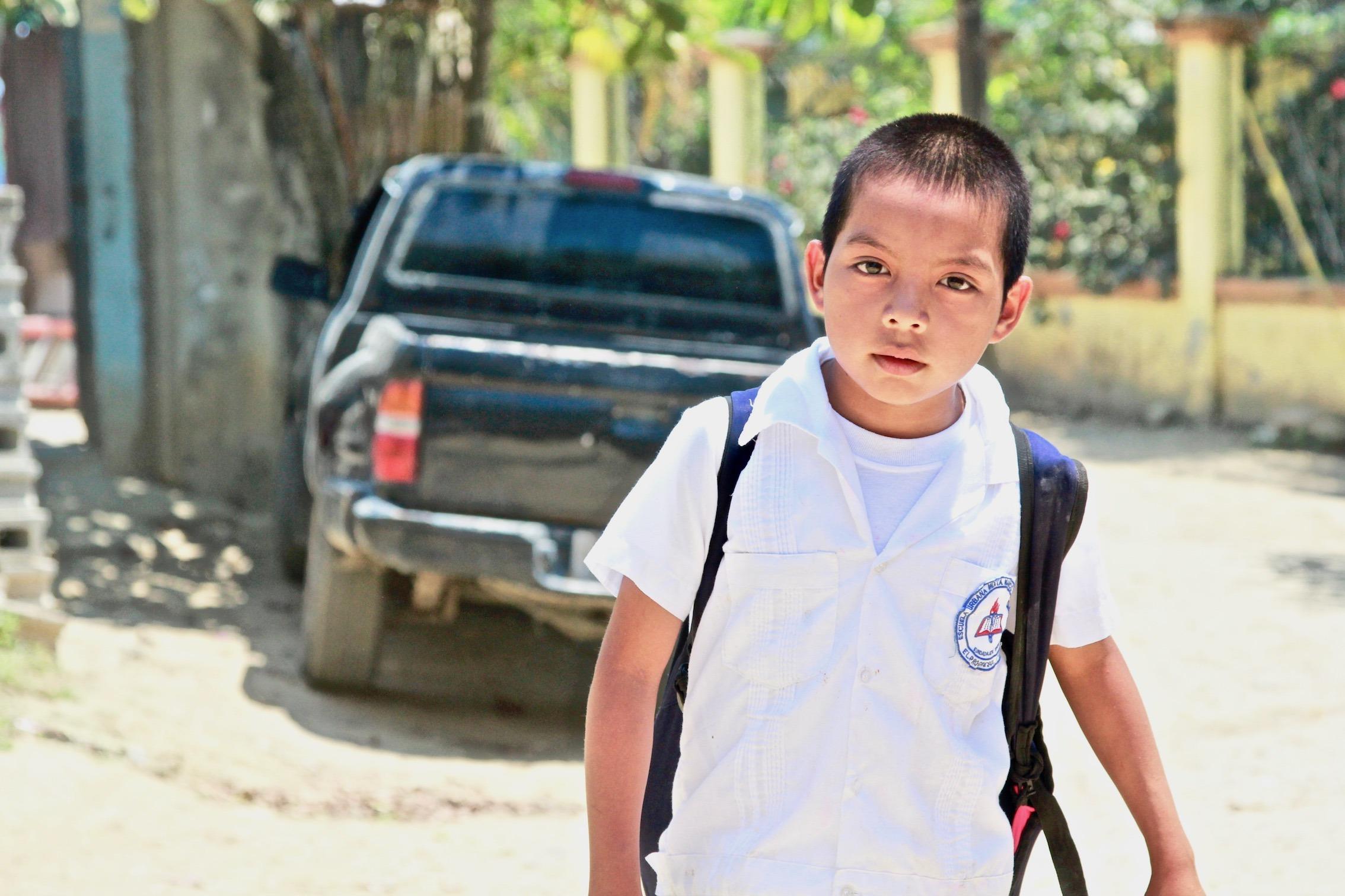 Estudiantes de Honduras: Meet Isaias, 4th Grader at the Escuela Mixta Marco Aurelio Soto