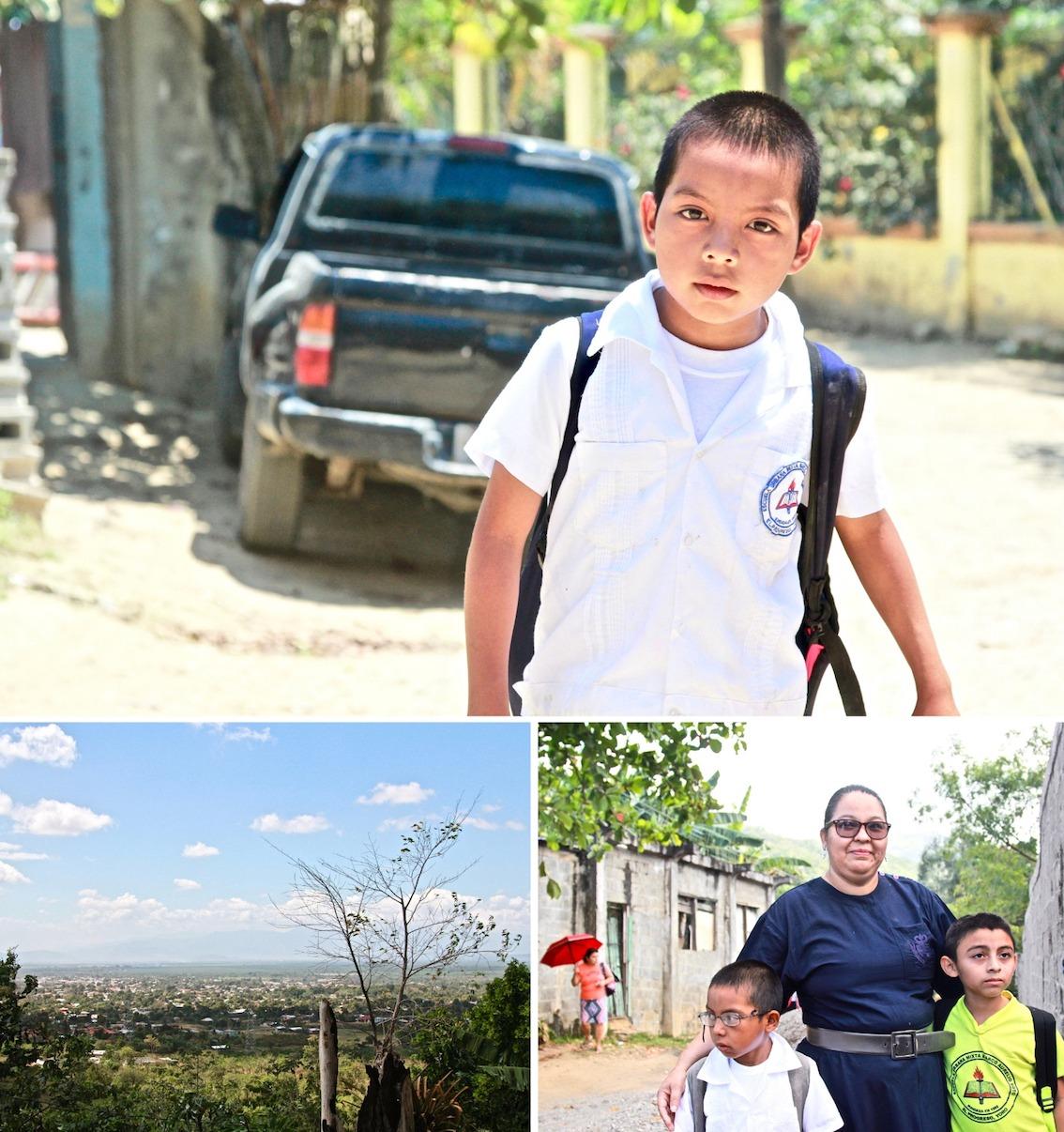Isaias at Escuela Marco Aurelio Soto