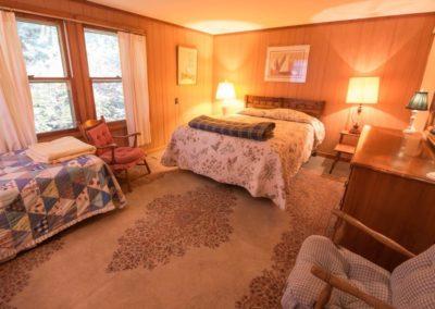 Big Blue back bedroom queen twin