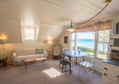 The Loft living room view