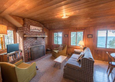 crib fireplace view
