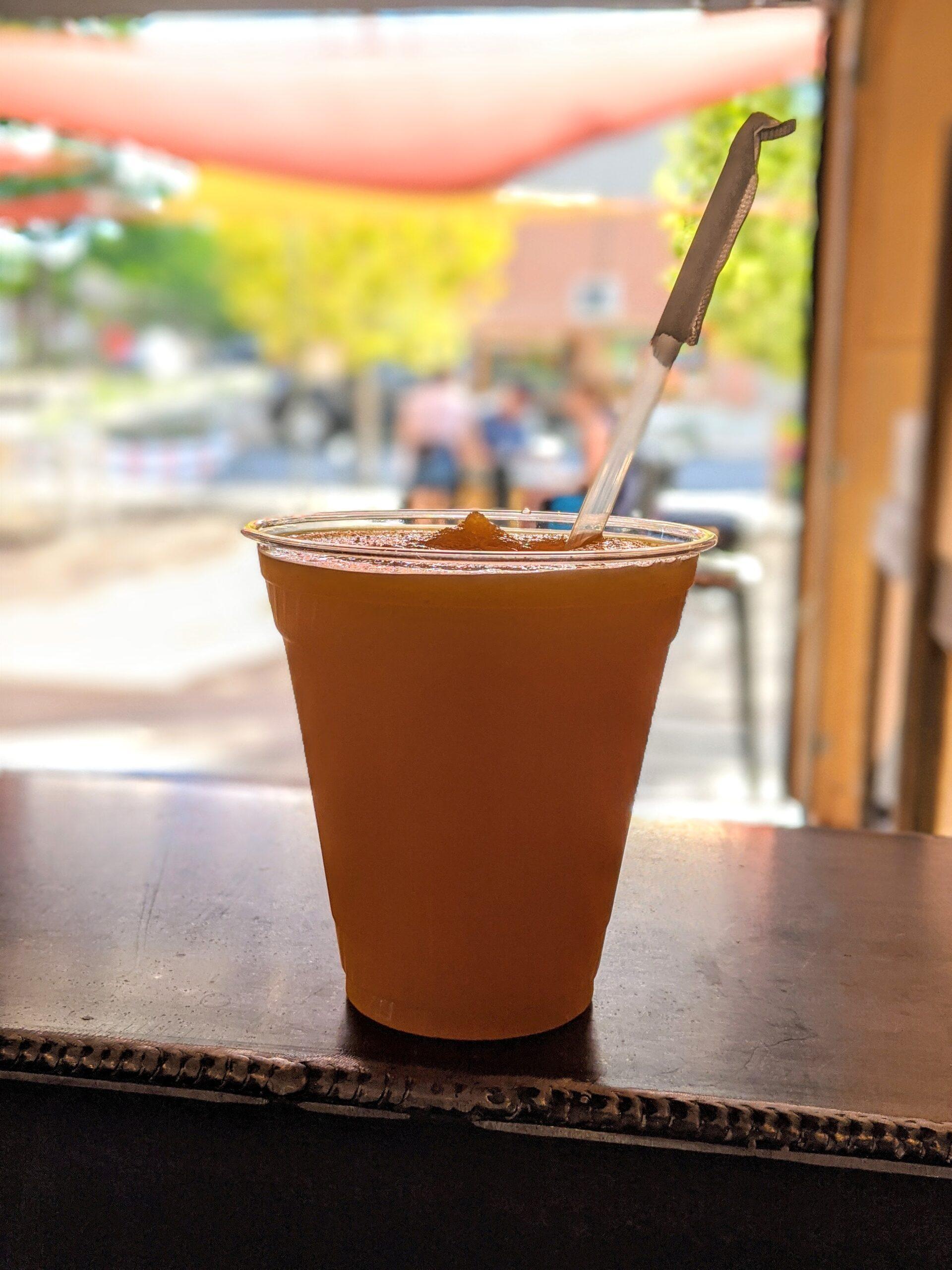 Mango Madness Slushee