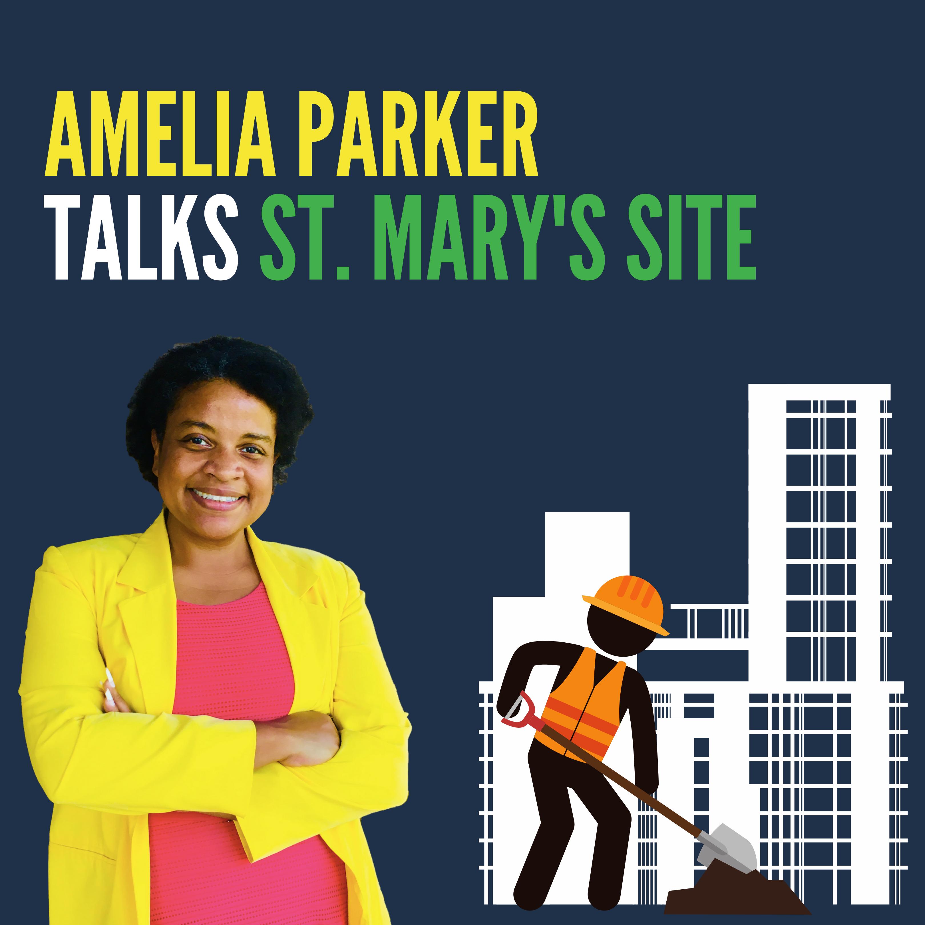 Amelia Talks St. Mary's photo
