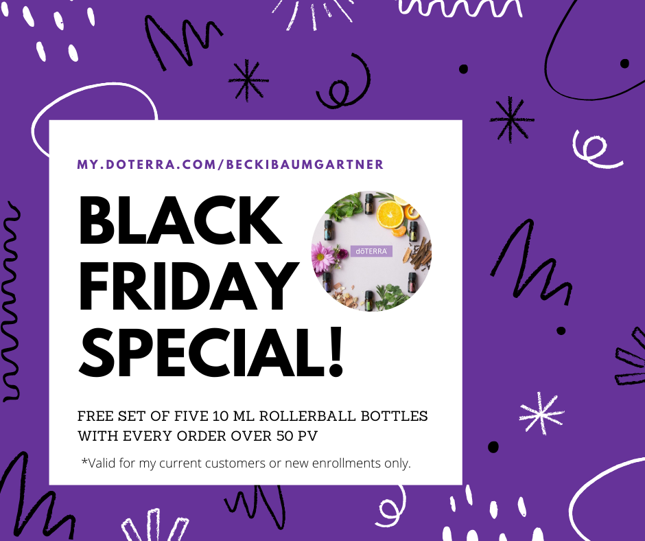 doTERRA 2020 Black Friday Through Cyber Monday Special