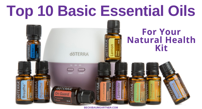 Top 10 Basic Essential Oils for Your Natural Health Kit