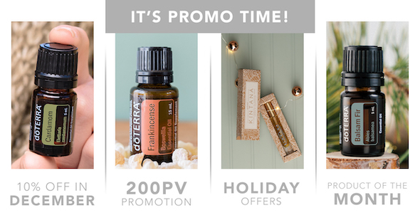 doTERRA December 2020 Promotions