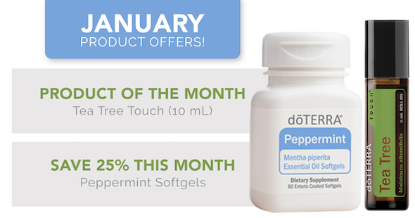 January 2021 doTERRA Special Offers