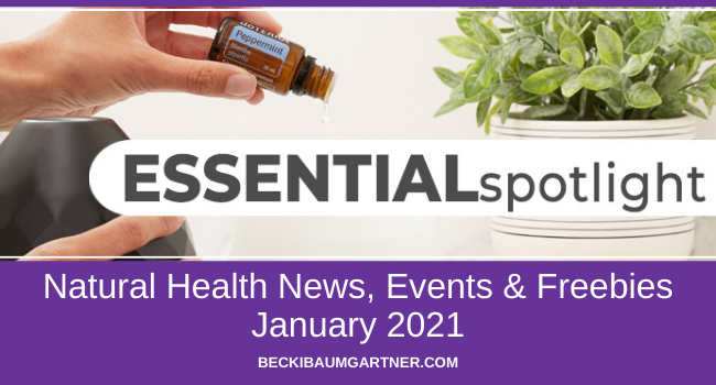 January Natural Health News, Events & Freebies