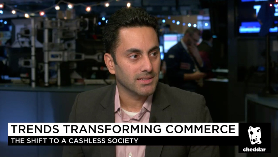 Discussing global commerce trends  on Cheddar TV live from the floor of the NYSE