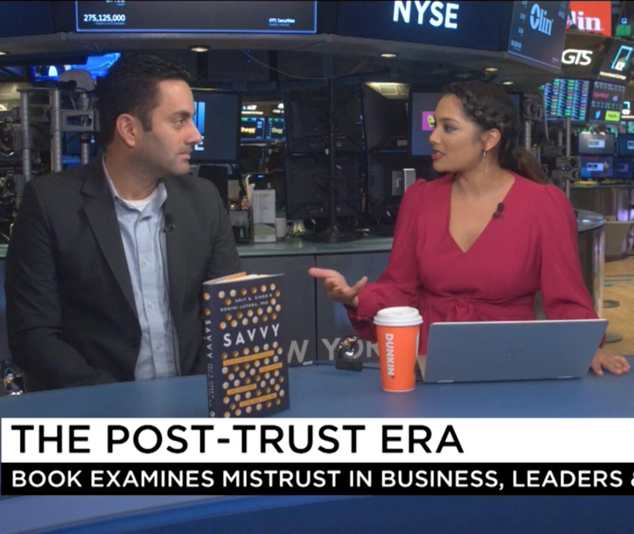 Cheddar TV at the NYSE