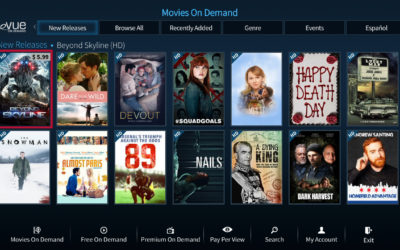 New Evolution Digital eVUE-TV Experience Arrives to Customers Nationwide
