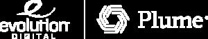 Evolution Digital and Plume logos