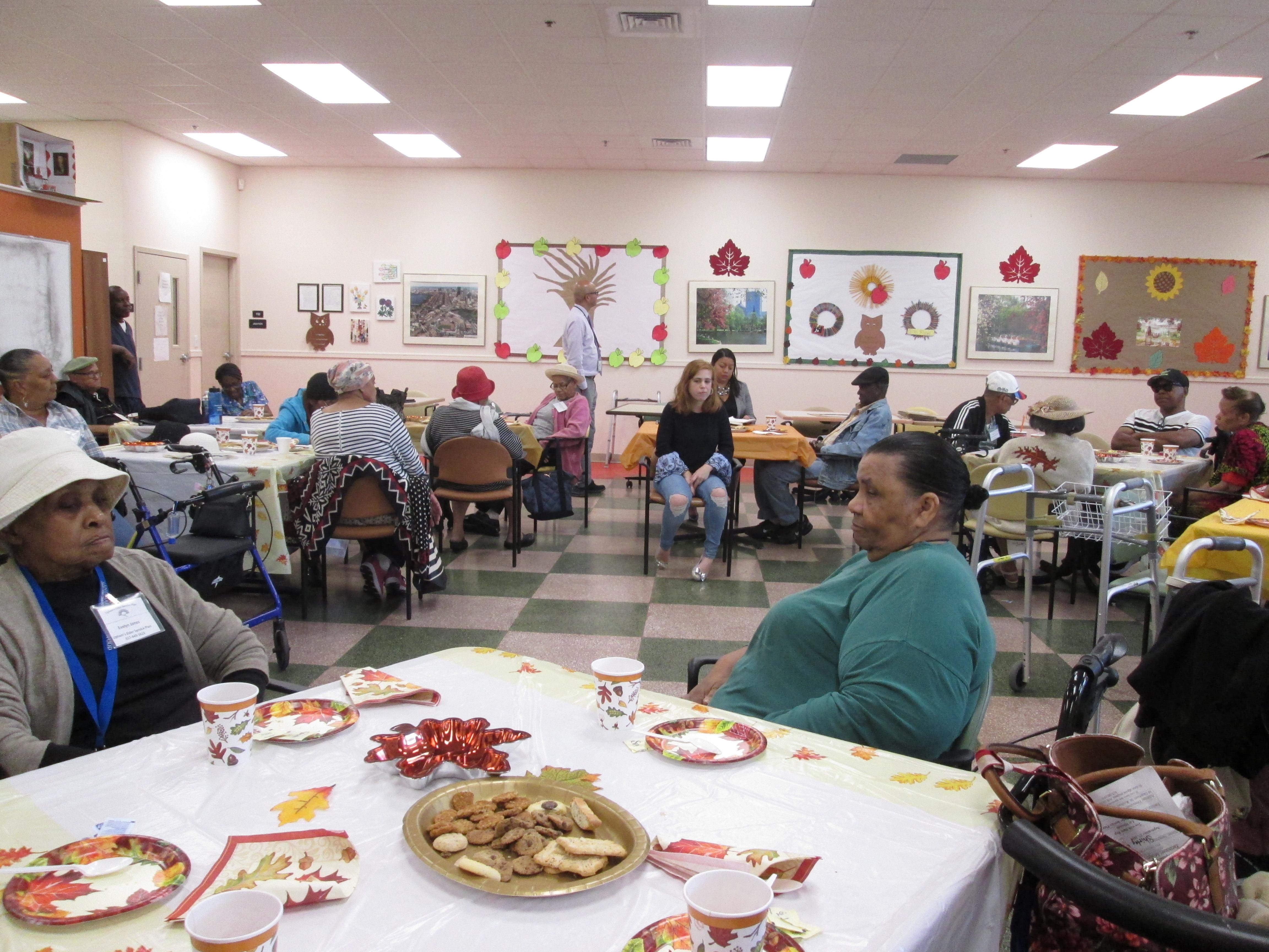 Participants listening and sharing to Liz Miranda