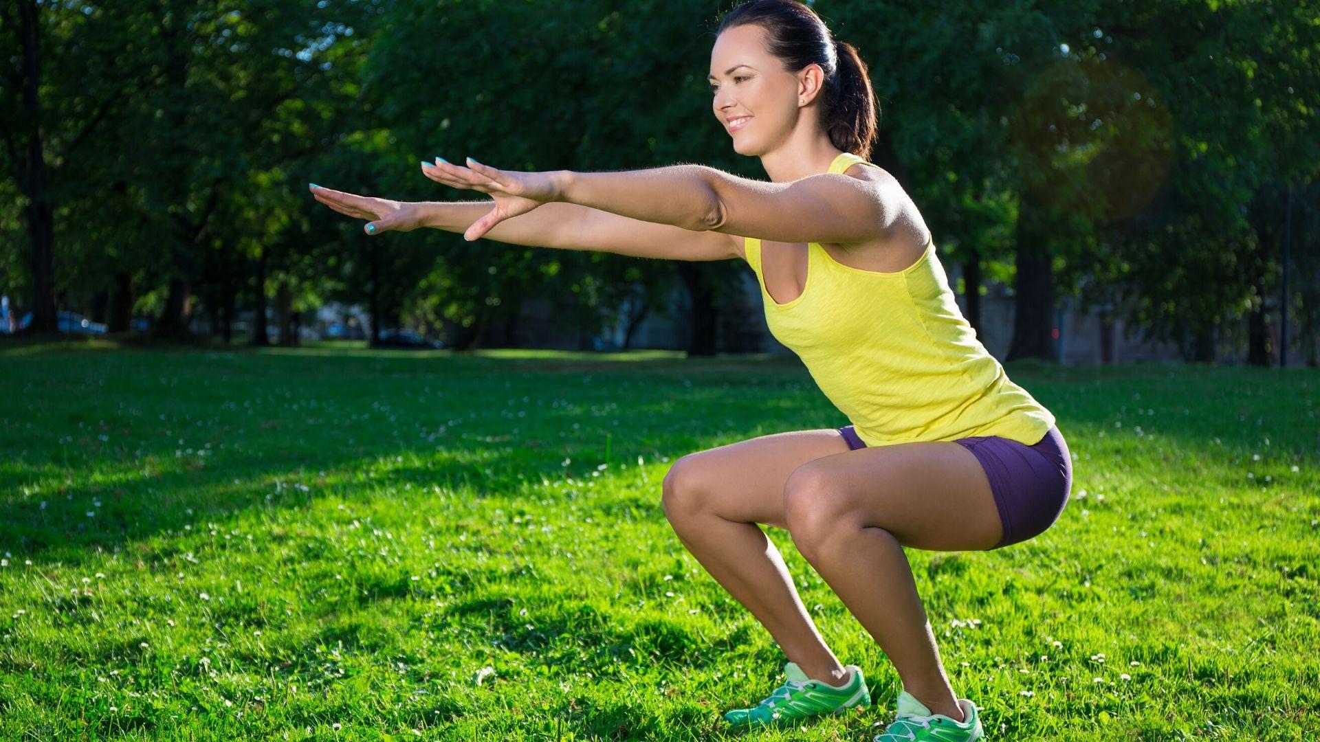 Squatober Squat Challenge Exercise Challenge - Banner