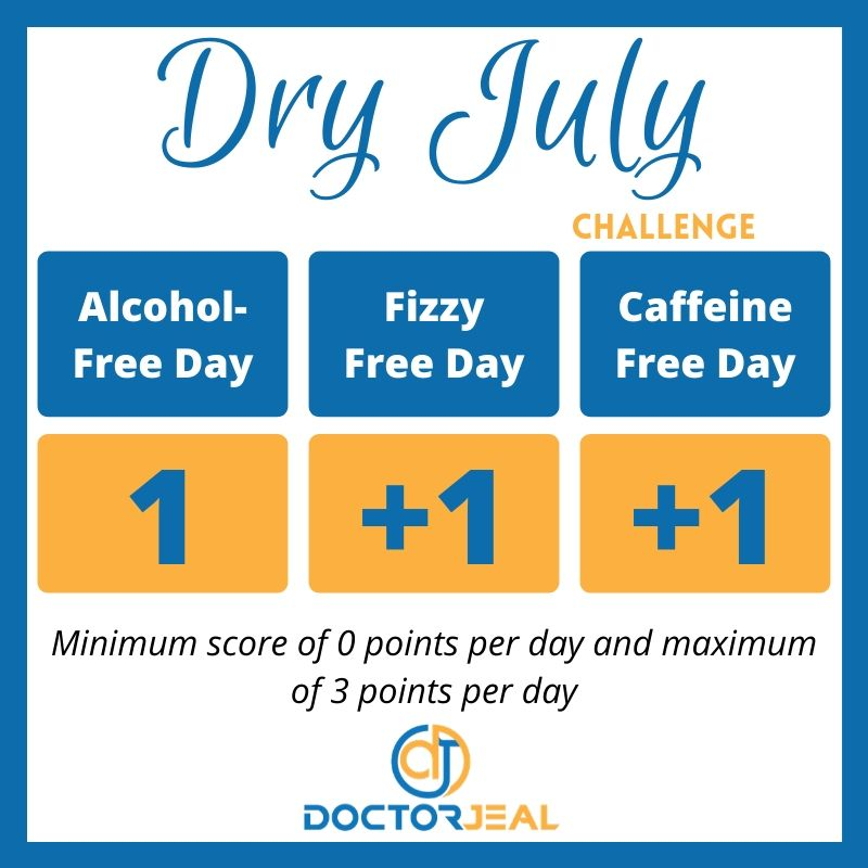 Dry July Points Guide